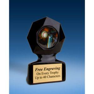 T-Ball Black Star Acrylic Trophy