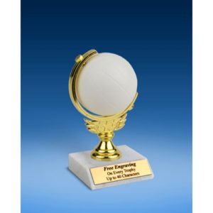 """Volleyball Soft Spinner Ball Trophy 6"""""""