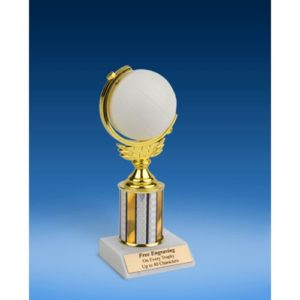 """Volleyball Soft Spinner Ball Trophy 8"""""""