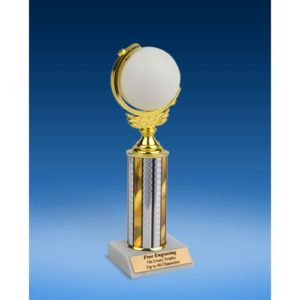 """Volleyball Soft Spinner Ball Trophy 10"""""""