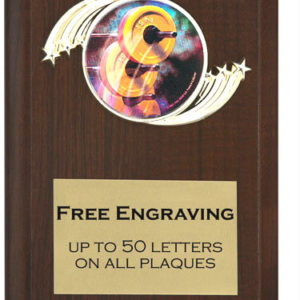 Weightlifting Plaque
