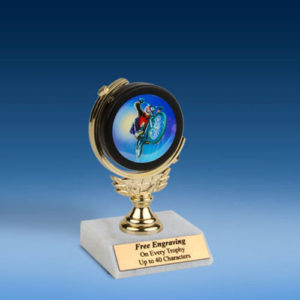 "BMX Soft Spinner Mylar Holder Trophy 6""-0"