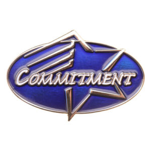Commitment Achievement Pin
