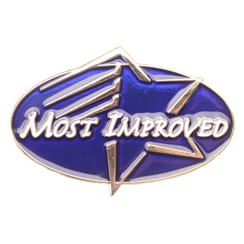 Most Improved Achievement Pin