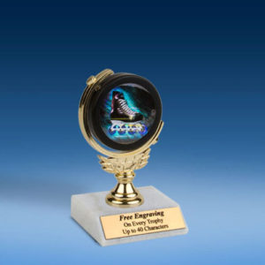 """Rollerblade Soft Spinner Mylar Holder Trophy 6""""-0"""