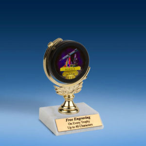 "Science Soft Spinner Mylar Holder Trophy 6""-0"