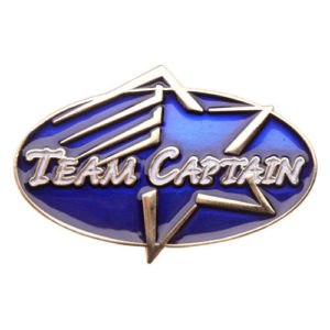 Team Captain Achievement Pin-0