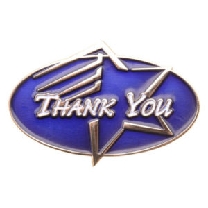 Thank You Achievement Pin-0