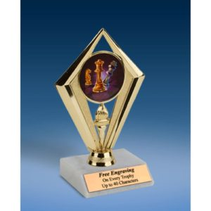 Chess Sport Diamond Trophy 6""