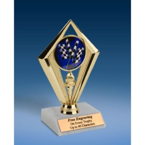 Derby Sport Diamond Trophy 6""