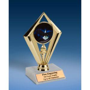 "Eagle Sport Diamond Trophy 6"""