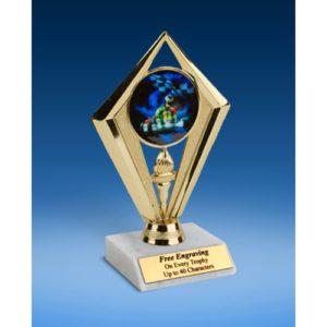 "Go Kart Sport Diamond Trophy 6"""