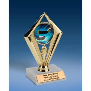 Hockey Sport Diamond Trophy 6""