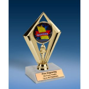 Manager Sport Diamond Trophy 6""