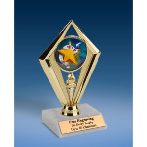 MVP Sport Diamond Trophy 6""