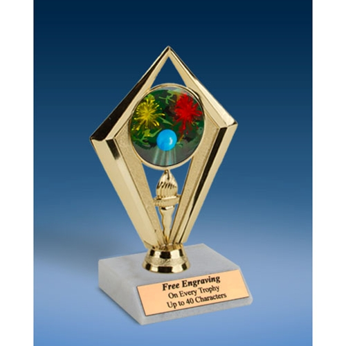 Paintball Sport Diamond Trophy 6""