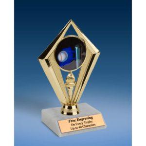 "Softball Sport Diamond Trophy 6"""