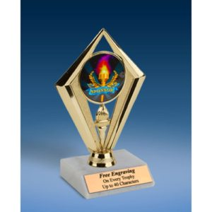 Sponsor Sport Diamond Trophy 6""