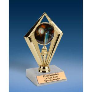 "T-Ball Sport Diamond Trophy 6"""
