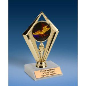 "Track Sport Diamond Trophy 6"""