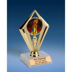 """Wrestling Sport Diamond Trophy 6"""""""