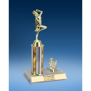 Dance Sport Figure Trim Trophy 10""