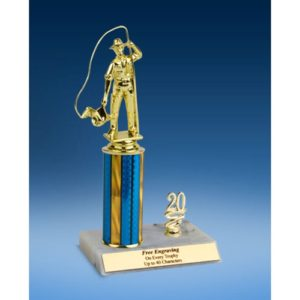 Fishing Sport Figure Trim Trophy 10""