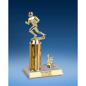 Football Sport Figure Trim Trophy 10""