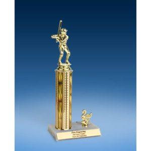 "Baseball Sport Figure Trim Trophy 12"""