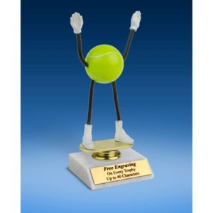 Tennis Poseable Figure 6""