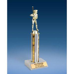 "Softball Sport Figure Trophy 12"""