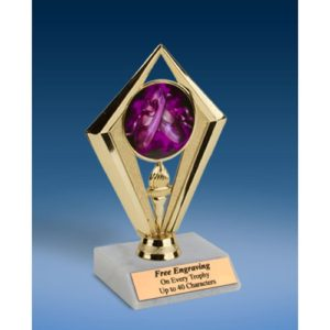 Dance 2 Sport Diamond Trophy 6""