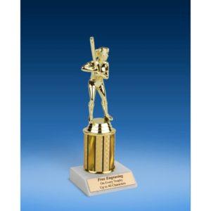 "Softball Sport Figure Trophy 8"""