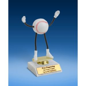 Baseball Poseable Figure 6""