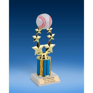 Baseball Rising Star Trophy 9""