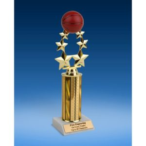 "Basketball Rising Star Trophy 11"""