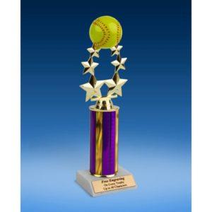 "Softball Rising Star Trophy 11"""