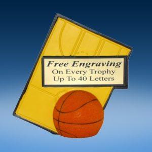 Basketball Sport Ballz Trophy