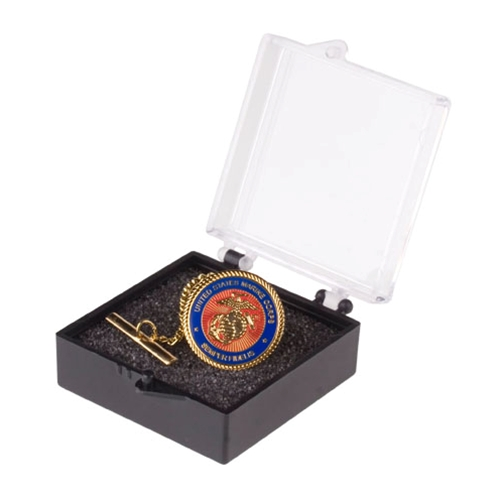 Marine Corps Tie-Tack with Plastic Case