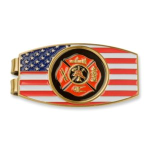 Fireman Money Clip