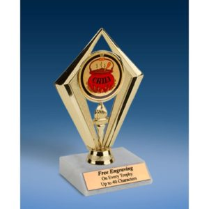 Chili Sport Diamond Trophy 6""