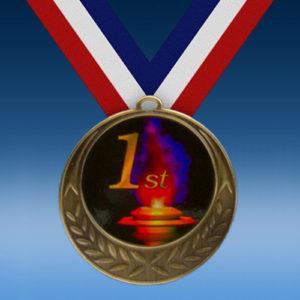 1st Place Laurel Wreath Medal-0