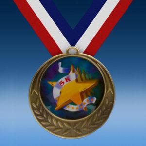 5K Laurel Wreath Medal-0