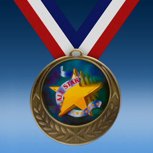 All Star Laurel Wreath Medal-0