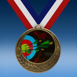 Archery Laurel Wreath Medal-0