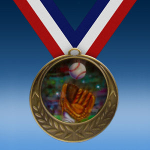 Baseball 2 Laurel Wreath Medal