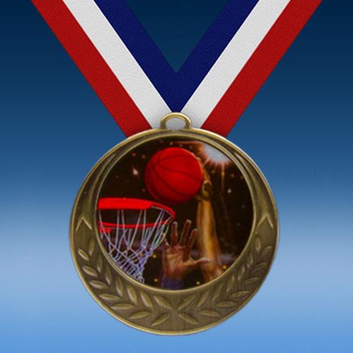 Basketball 2 Laurel Wreath Medal