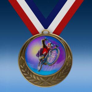 BMX Laurel Wreath Medal-0