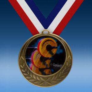 Body Building Laurel Wreath Medal-0