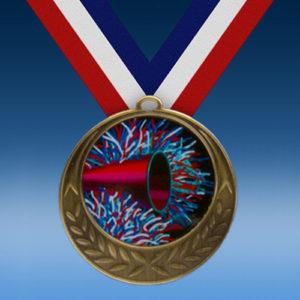 Cheerleading Laurel Wreath Medal-0